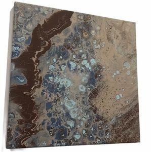 Original Abstract art done in fluid acrylic